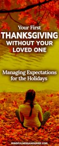 Living with Grief During the Holidays - Part 1 @ The Hospice Center